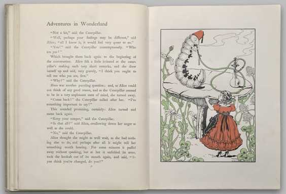 Alice's Adventures in Wonderland & Through the Looking Glass - 1900 - Carroll, Lewis (author); McManus, Blanche (illus.) - New York - The Burstein Collection