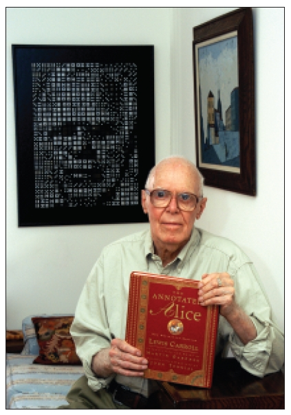 Remembering Martin Gardner « Lewis Carroll Society of North America