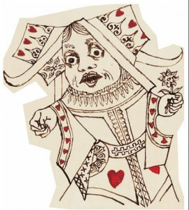 Carroll's Queen of Hearts
