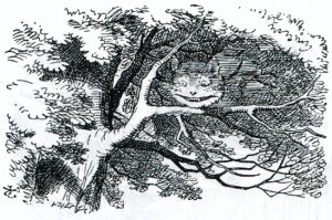 tenniel cheshire cat