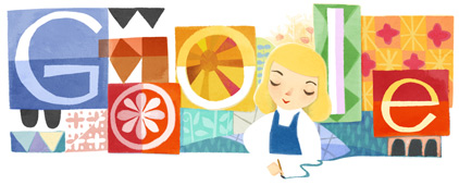 Lewis Carroll google doodle