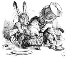 they were trying to put the Dormouse into the teapot