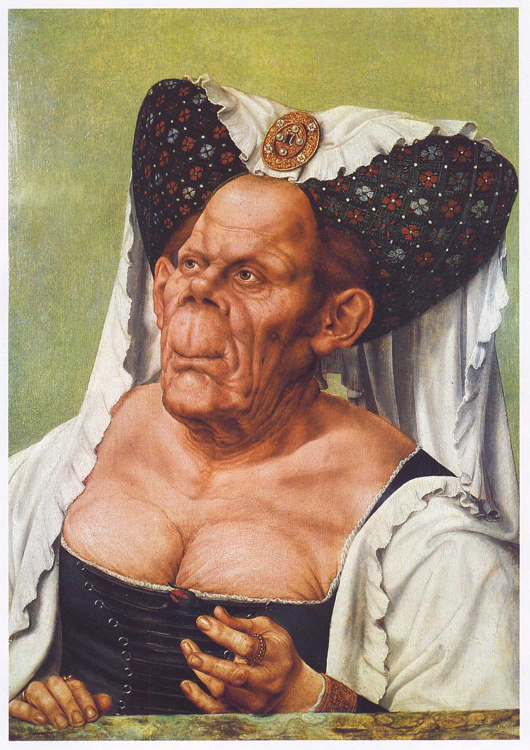 An Old Woman   The Ugly Duchess   quot  by Quintin Matsys  c  1515  Oil on    Ugly People Kids