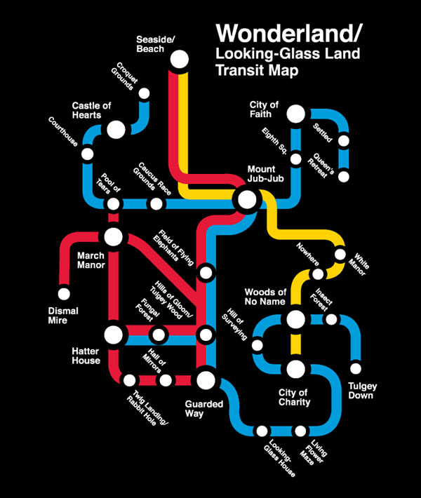 Wonderland Transit Map