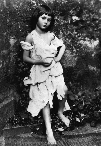 Alice Liddell as a Beggar Maid