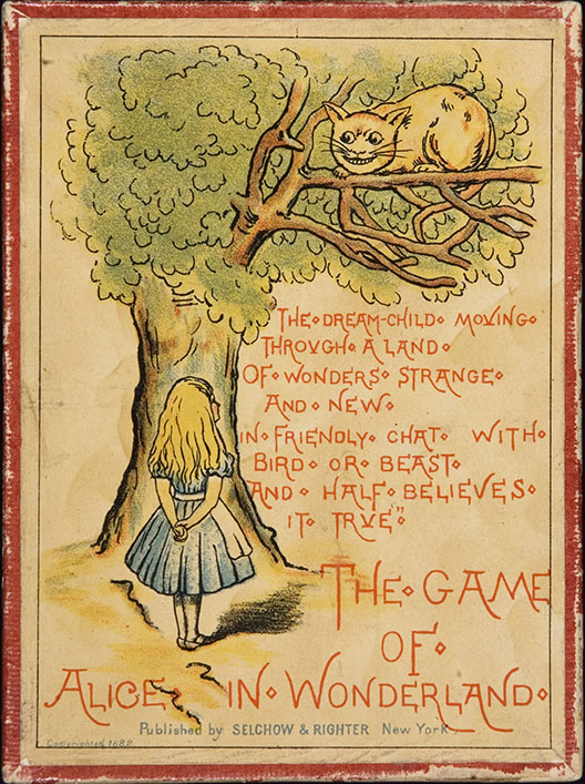 The Game of Alice in Wonderland. Selchow & Righter, 1882.