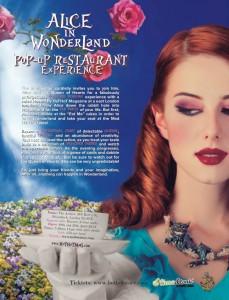 Popup Restaurant Flyer