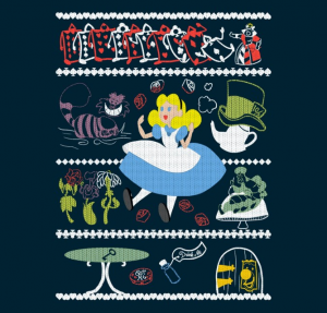 Tee Fury Knitted Alice