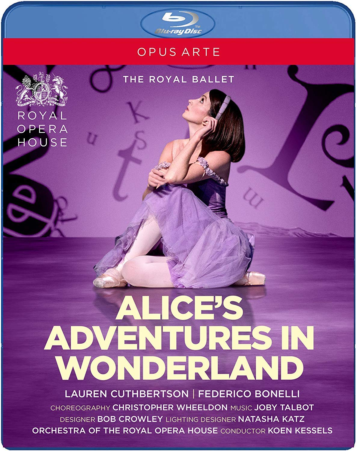 Alice's Adventures in Wonderland - Royal Ballet [Blu-ray]