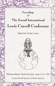 Proceedings of the Second International Lewis Carroll Conference