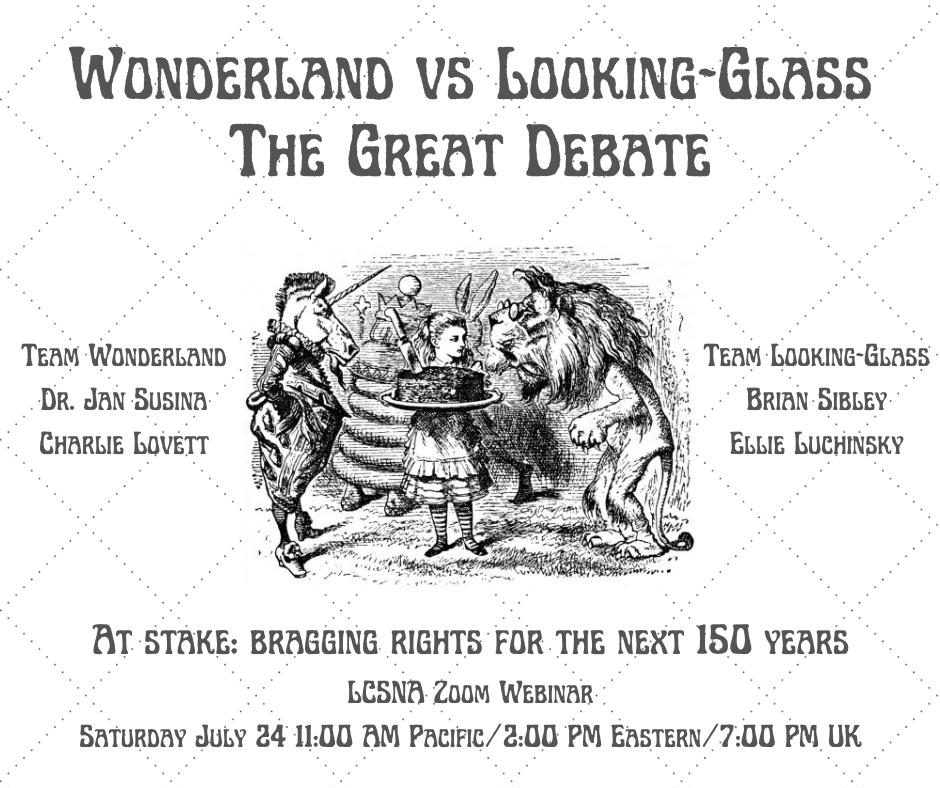 The Great Debate: Wonderland vs. Looking-Glass